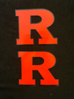 Rutgers University R Magnet Scarlet Red Scarlet Knights New Jersey Lot of 2