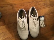 Foot Joy Womens Golf Shoes White 7M Soft Spikes