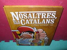 NOSALTRES ELS CATALANS - JAN - NAVARRO - EN CATALA - TAPA DURA