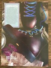 1991 Merrell Footwear South Burlington VT Print Ad Guide Boots Legend in Leather