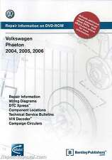 Volkswagen Phaeton 2004 2005 2006 Repair Manual On DVD-ROM : VD15