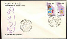 Turkish Cypriot Posts 1989 Europa, Children Games FDC First Day Cover #C37165