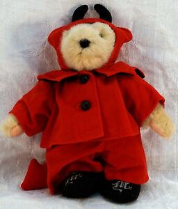 Vintage NABCO Muffy VanderBear Teddy Bear Devil May Care Halloween
