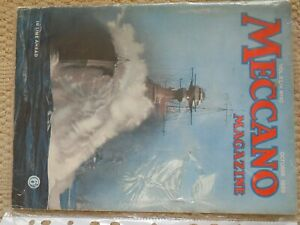 Meccano Magazine - October 1939 complete & unmarked- over 60 pages