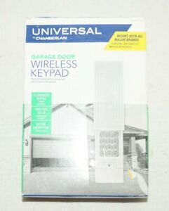 Chamberlain KLIK2U-P2 Universal Wireless Garage Door Keypad