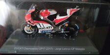 Ducati Desmosedici GP17 (2017) J. Lorenzo Altaya Moto Gp 1:18