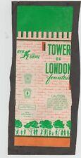 Vintage United Fireworks Red Devil Tower of London Label ICC - Dayton, OH - RARE