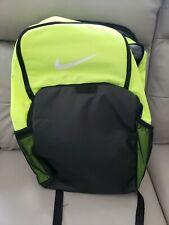 """NWOT Nike Backpack XL Neon Green Black 15"""" Laptop Bag Free Shipping!"""