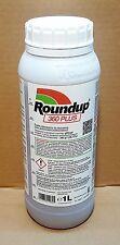 Roundup 360 PLUS erbicida, glifosato 1 L. importazione Monsanto