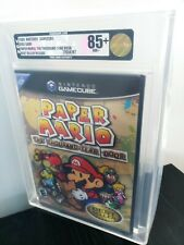 Paper Mario The Thousand Year Door, New Factory Sealed VGA Graded 85+ Gold NM+