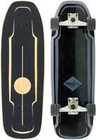 MINDLESS Longboard Skateboard Komplett SURF Skateboard 2021 black Steetsurfer