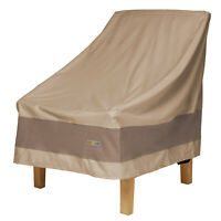 Duck Covers Heavy Duty Swiss Coffee Patio Chair Cover, Elegant