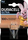 Duracell Ultra Batterie 9V E-Block 6LR61 MX1604, 1er Pack