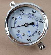 "New PIC Gauges 203L-254H-LT Pressure Gauge 2 ½"" 0-300 psi"