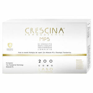 LABO Crescina Transdermic Mps Regrowth + Anti-hair Loss 200 Hair Man 20+ 20