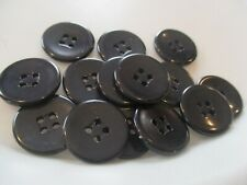 LOT OF 30 ASSORTED COLORFUL 7//8 INCH 2 HOLE BUTTONS NEW #1