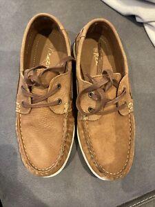Boys Size 3 Tan Lace Up Next Shoes