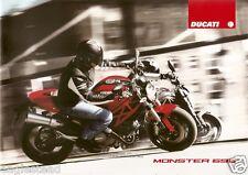 Motorcycle Brochure - Ducati - Monster - 696 - c2008 (DC284)
