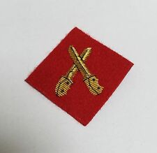 Brecon 2 Mess Dress Sleeve Badge, Junior Red Crossed Daggers, Army, Military