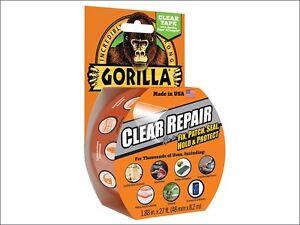 Gorilla Glue - Gorilla Tape Clear Repair 48mm x 8.2m - 3044701