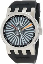 New Invicta Womens 10446 DNA Multi-Color Dial Steel Case Black Silicone Watch
