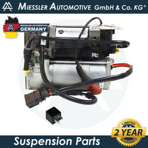 Bentley Continental Flying Spur NEW Air Suspension Compressor & Relay 3D0616005