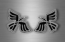 2x sticker car decal biker tuning viking raven odin crow pagan wiccan gothic r1
