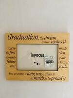New Graduation 4X6 Wooden Picture Frame