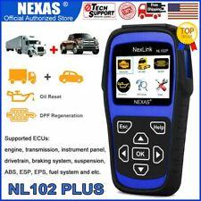 Nexas Nl102p Heavy Duty Truck Diagnostic Scanner Code Reader Dpf Oil Reset Tool