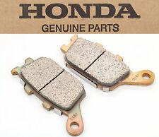 New Genuine Honda Rear Brake Pads Pad Set CBR CB VT RVT VTR VTX13 (See Note)#P50