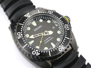 Men's Seiko Scuba Divers 5M62-0BL0 Kinetic Watch - 200m