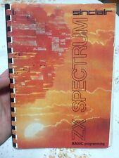 Zx Spectrum book instruction manual - Sinclair