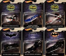 Batman Set 6 Batmobile Modellautos Tumbler Batcopter 1:50 Hot Wheels DKL20