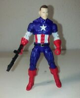 Custom GI Joe/ Marvel Universe DUKE CAPTAIN AMERICA Action Figure