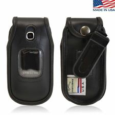 Turtleback Samsung Gusto 3 Executive Leather Case with Ratcheting Belt Clip