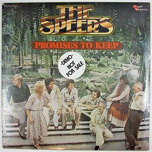 SPEERS Promises To Keep LP 1978 COUNTRY GOSPEL (STILL SEALED/UNPLAYED)