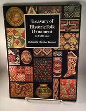 Treasury of Historic Folk Ornament in Full Color (Dover Pictorial Archive) SC