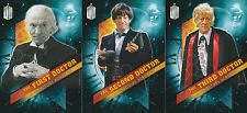 Topps 2016 Doctor Who Timeless - Doctors Across Time Chase Trading Card Set