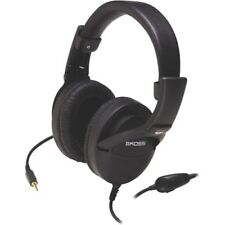 Koss 165789 Noise Reduction Headphones With Leatherette Over-the-ear Folding