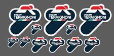 10 AdesivI Stickers TERMIGNONI resistente al calore varie misure DUCATI Team