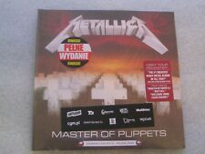 Metallica - Master of Puppets PL CD Polish Release NEW SEALED
