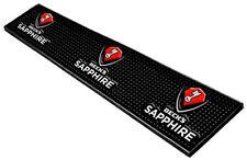"Beck's Sapphire Drip Rail Bar Mat Brand New  23.5"" x 3.5"" Free Shipping in USA"