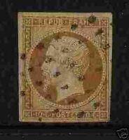 """FRANCE 1852 Y&T 9 """"10c REPUBLIQUE"""" OBLITERE TB"""