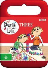 Charlie And Lola : Volume 3 . New Sealed DVD. Region 4 (Australia). Free Post