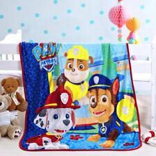 Kids Soft Mink Blanket Flannel Fabric Plush Quilt 1 X 1.4 Meter Paw Patrol