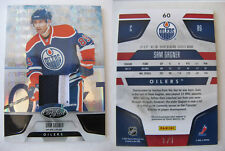 2011-12 Panini Certified #60 Sam Gagner 1/1 mirror black patch 1 of 1 oilers