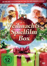 Weihnachts-Spielfilm Box | Geschenk Idee | 18 Filme | Familie  [FSK12] DVD