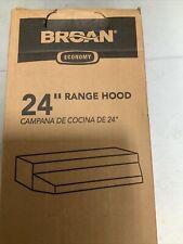 24 stainless steel range hood Broan