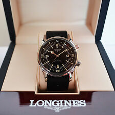 *NO DATE* Longines Legend Diver Watch - Serviced 21 Month Warranty- Box & Papers