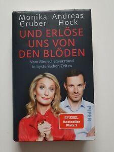 """GebundeneS Buch """"Und erlöse uns von den Blöden"""" Monika Gruber und Andreas Hock"""